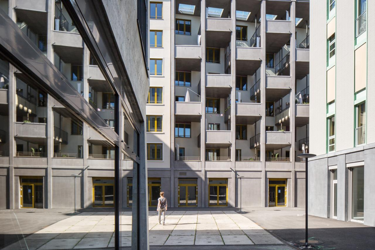 Houses, building structure, Hunziker Areal, Urbanism, Architecture